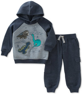 Kids Headquarters 2-Pc. Dinosaur Hoodie & Jogger Pants Set, Baby Boys (0-24 months)