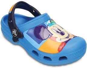 Crocs Creative Disney's Mickey Mouse Kids' Colorblock Clogs