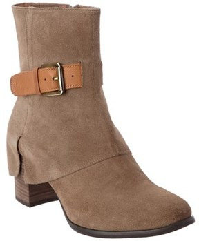 Chocolat Blu Hendrix Suede Ankle Boot.