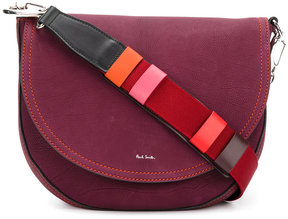 Paul Smith contrast strap saddle bag