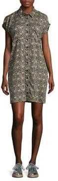 Context Plus Cold Shoulder Sheath Dress