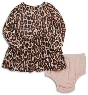 Splendid Girls' Animal Print Dress & Bloomers Set - Baby