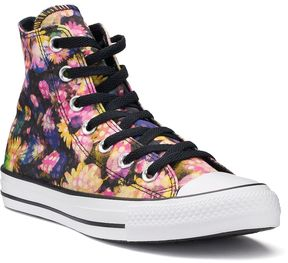 Converse Women's Chuck Taylor All Star Polka-Dot Floral High Top Sneakers