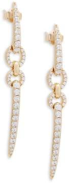 Adriana Orsini Women's Eva Linear Crystal Earrings