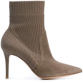 Gianvito Rossi knitted ankle boots
