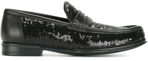 Dolce & Gabbana sequinned loafers
