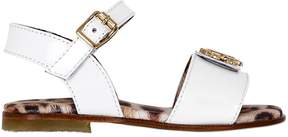 Roberto Cavalli Patent Leather Sandals