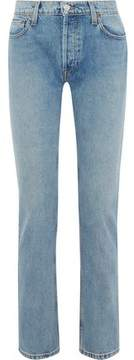 Levi's Re/Done By +cindy Crawford The Crawford Mid-Rise Straight-Leg Jeans