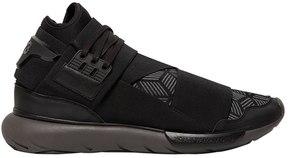 Y-3 Qasa Printed Nylon High Top Sneakers