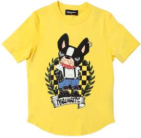 DSQUARED2 Ciro Printed Cotton Jersey T-Shirt