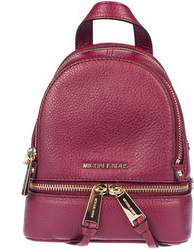 Michael Kors Mini Rhea Backpack - MULBERRY - STYLE
