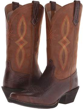 Ariat Round Up Square Toe II Cowboy Boots