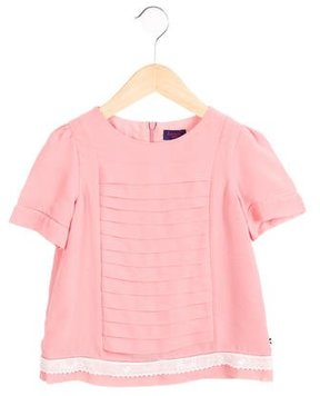 Paul Smith Girls' Tiered Short Sleeve Top