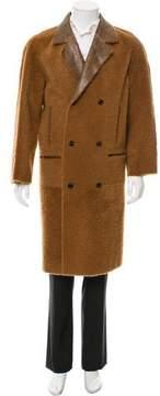 Billy Reid Homesley Shearling Coat