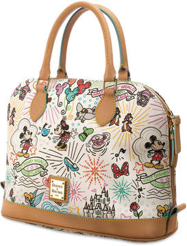 Disney Sketch Zip Satchel by Dooney & Bourke