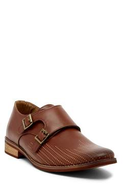 Deer Stags Cypress Perforated Double Monk Strap Loafer