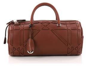 Christian Dior Pre-owned: Connect Duffle Bag Giant Cannage Woven Leather