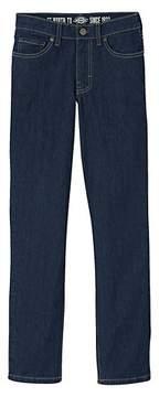 Dickies Boys' Slim Fit Straight Leg Five Pocket Denim Jean