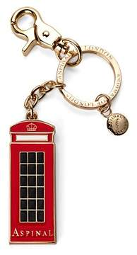 Aspinal of London London Telephone Box Key Ring