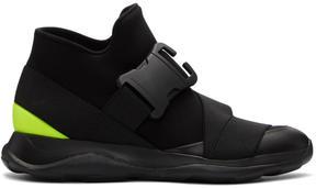 Christopher Kane Black Spoiler High-Top Sneakers