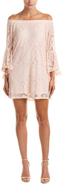 Flying Tomato Lace Off-The-Shoulder Dress