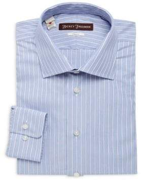 Hickey Freeman Smart Casual Classic-Fit Cotton Dress Shirt