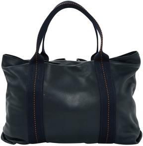 Hermes Acapulco leather handbag - NAVY - STYLE