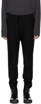 Robert Geller Black Richard Lounge Pants