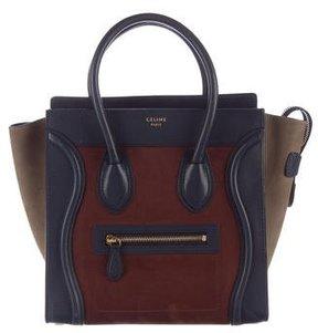 Céline Tricolor Micro Luggage Tote
