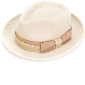 Paul Smith bow detail hat