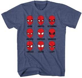 Spiderman Kohl's Boys 8-20 Marvel Moods Tee