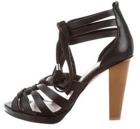 Derek Lam 10 Crosby Leather Lace-Up Sandals