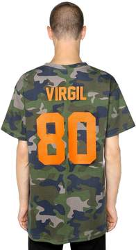Les (Art)ists Virgil Camo Print Cotton Jersey T-Shirt