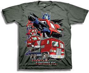 Freeze Charcoal Transformers Tee - Boys