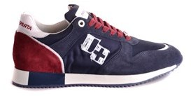 D'Acquasparta D'acquasparta Men's Blue Suede Sneakers.