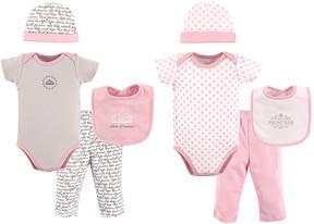Hudson Baby Pink Princess Grow With Me Box Set - Newborn