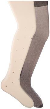 Jefferies Socks Diamond Lurex Tights 2-Pack Hose