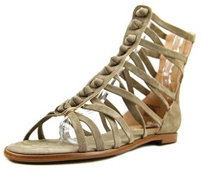Kensie Macklin Open Toe Synthetic Gladiator Sandal.
