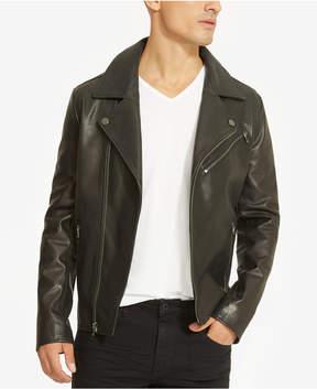 Kenneth Cole Reaction Men's Leather Moto Jacket