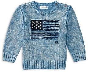 Ralph Lauren Childrenswear Boys' Flag Sweater - Baby