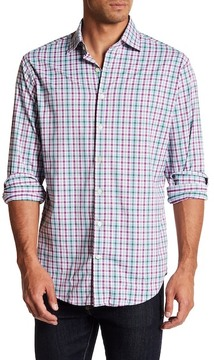 Peter Millar Scooter Performance Plaid Athletic Fit Shirt