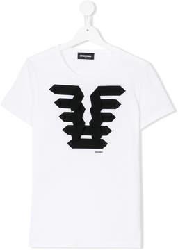 DSQUARED2 appliqué T-shirt dress