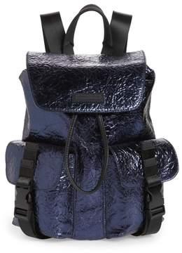 KENDALL + KYLIE Parker Metallic Water Resistant Backpack