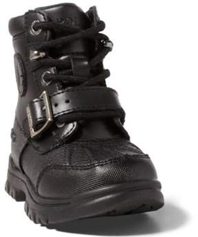Ralph Lauren Colbey Boot Black/Burnished Leather 4