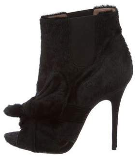 Jean-Michel Cazabat for Sophie Theallet Ponyhair Ankle Boots