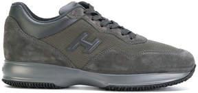 Hogan patch logo sneakers