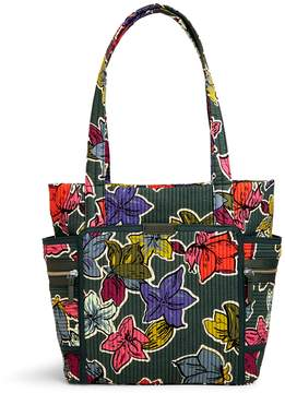 Vera Bradley Iconic Deluxe Small Vera Tote - FALLING FLOWERS - STYLE