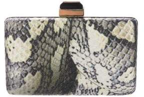 Lanvin Printed Box Clutch