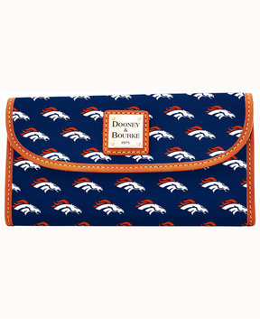 Dooney & Bourke Denver Broncos Clutch - NAVY - STYLE