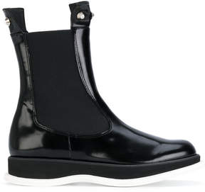 Paloma Barceló contrast ankle length boots